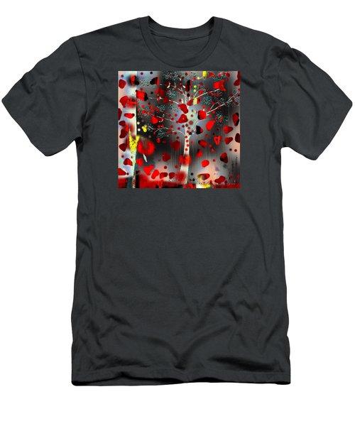Lift Me Up Men's T-Shirt (Slim Fit) by Yul Olaivar
