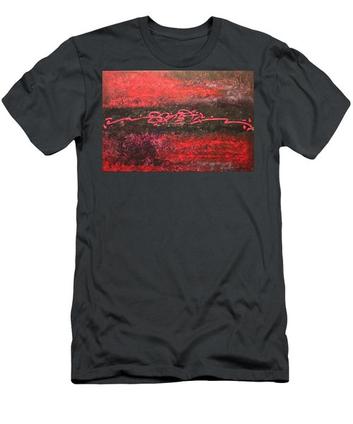 Something In Red Men's T-Shirt (Athletic Fit)