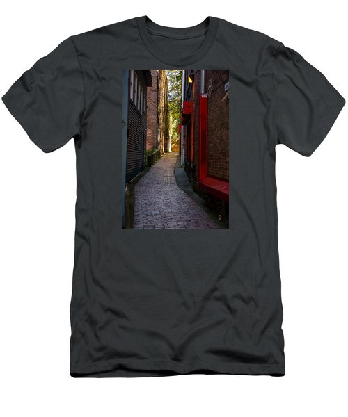 Somewhere In Newport Men's T-Shirt (Athletic Fit)