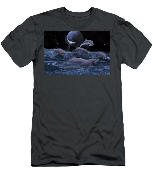 Somewhere Out There  Men's T-Shirt (Athletic Fit)