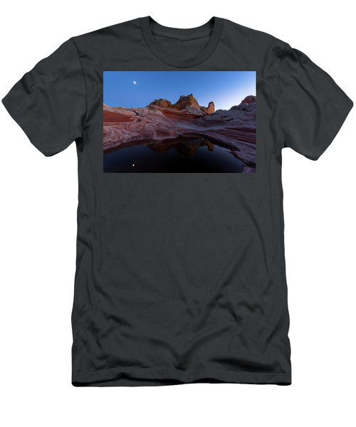 Men's T-Shirt (Slim Fit) featuring the photograph Song Of The Desert by Dustin LeFevre