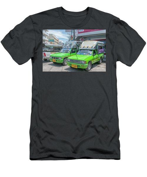Men's T-Shirt (Slim Fit) featuring the photograph Songthaew Taxi by Antony McAulay