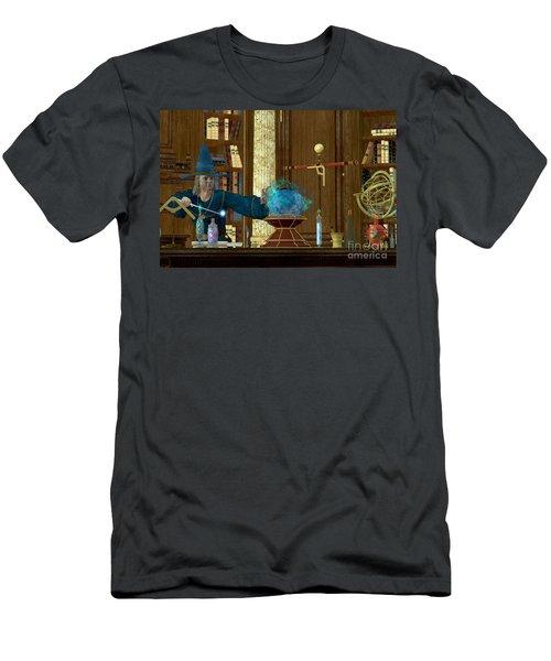 Sorcerer Magician Men's T-Shirt (Athletic Fit)
