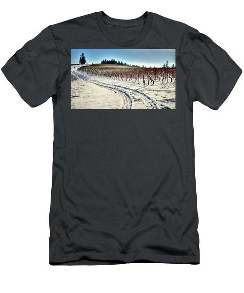 Soter Vineyard Winter Men's T-Shirt (Athletic Fit)