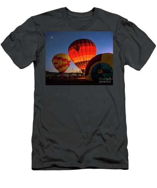 Men's T-Shirt (Athletic Fit) featuring the photograph Sound Retreat by Jon Burch Photography