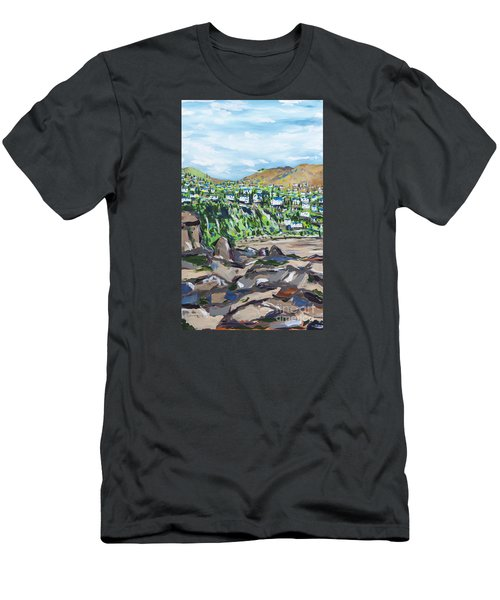 South African Coastline Part One Men's T-Shirt (Athletic Fit)