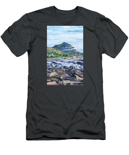 South African Coastline Part Three Men's T-Shirt (Athletic Fit)