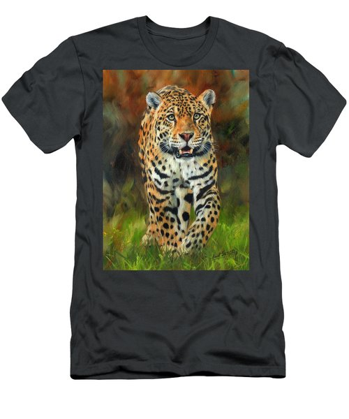 South American Jaguar Men's T-Shirt (Athletic Fit)