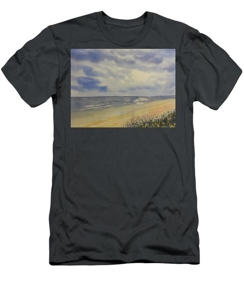 South Beach From The Dunes Men's T-Shirt (Athletic Fit)