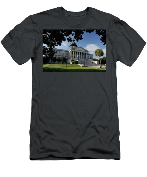 South Carolina State House 2 Men's T-Shirt (Slim Fit) by Michael Eingle