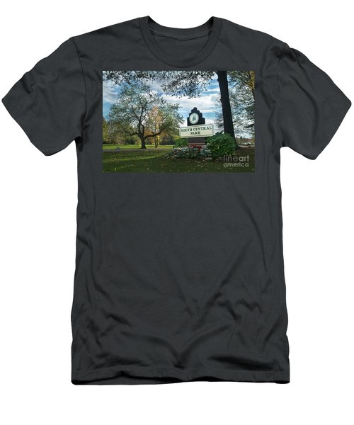South Central Park - Autumn Men's T-Shirt (Athletic Fit)