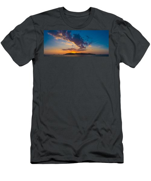 South China Sea Sunset Men's T-Shirt (Athletic Fit)