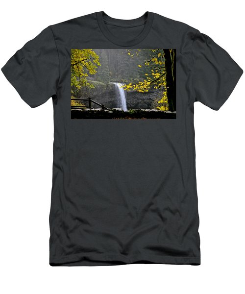 South Falls Of Silver Creek Men's T-Shirt (Athletic Fit)