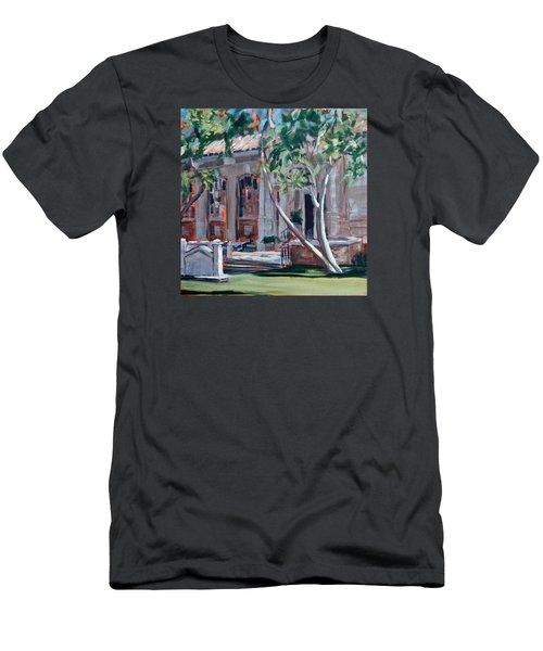 South Pasadena Library Men's T-Shirt (Slim Fit) by Richard Willson