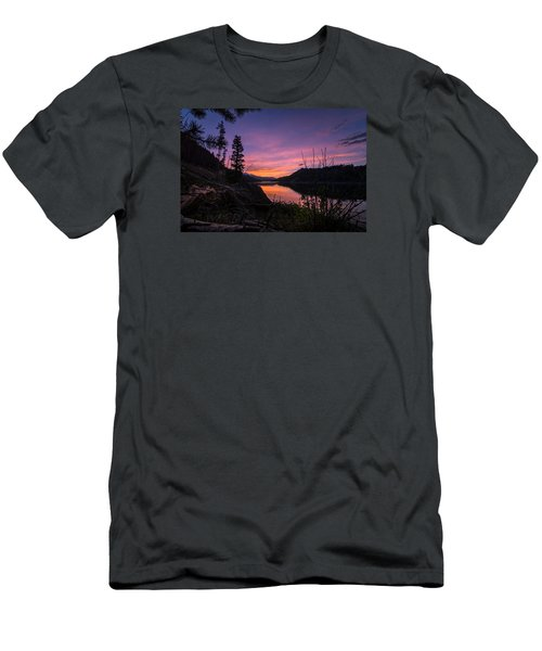 South Shore Lake Dillon Sunset Men's T-Shirt (Athletic Fit)