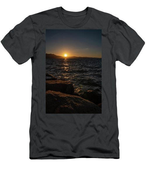 South Shore Sunset Men's T-Shirt (Athletic Fit)
