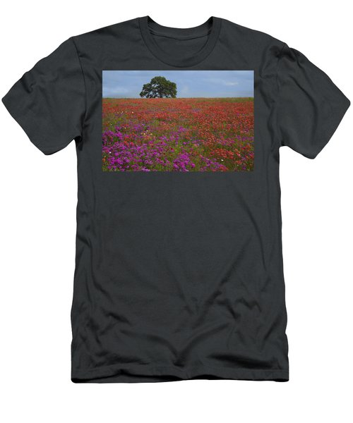 South Texas Bloom Men's T-Shirt (Athletic Fit)