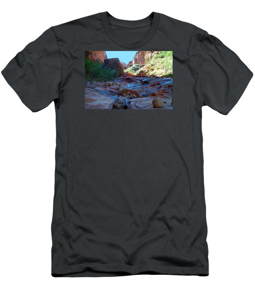 Sowats Creek Kanab Wilderness Grand Canyon National Park Men's T-Shirt (Athletic Fit)