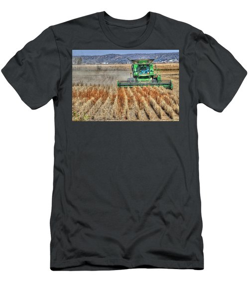 Soybean Harvest Fremont County Iowa Men's T-Shirt (Athletic Fit)