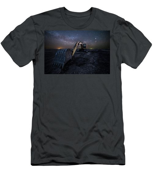 Men's T-Shirt (Slim Fit) featuring the photograph Space Excavator  by Aaron J Groen