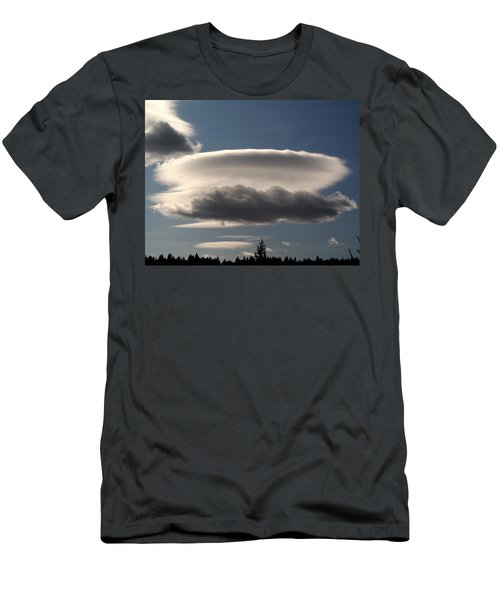 Spacecloud Men's T-Shirt (Athletic Fit)