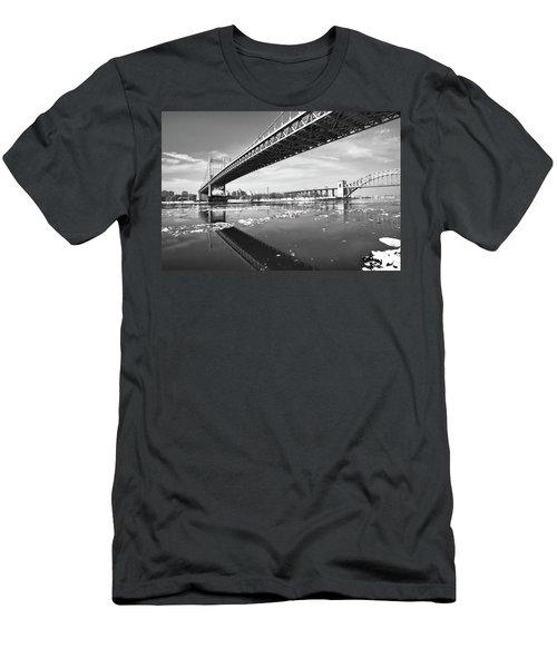 Spanning Bridges Men's T-Shirt (Athletic Fit)