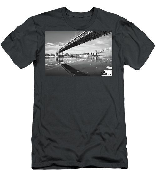Spanning Bridges Men's T-Shirt (Athletic Fit)
