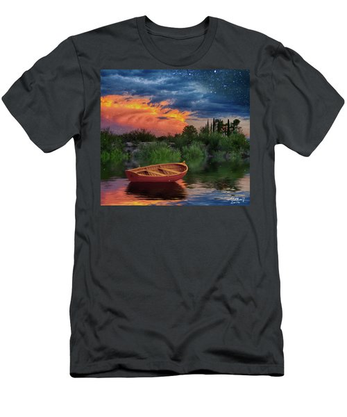 Sparkle Pond Men's T-Shirt (Athletic Fit)