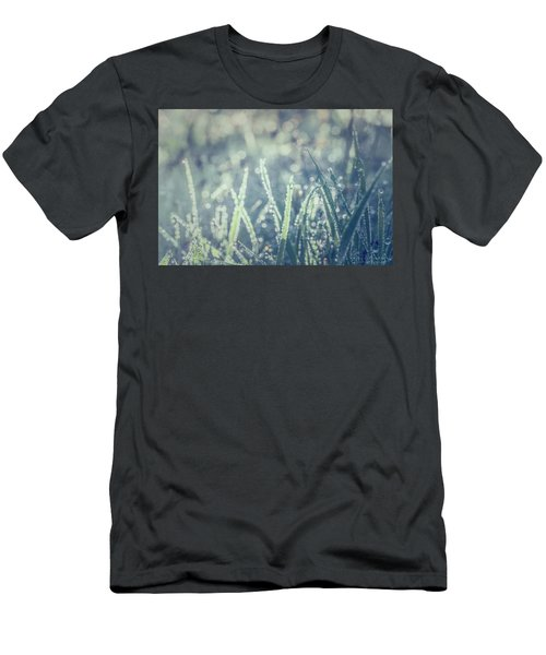 Men's T-Shirt (Athletic Fit) featuring the photograph Sparklets by Gene Garnace