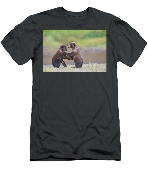Sparring Cubs Men's T-Shirt (Athletic Fit)