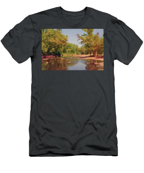 Spavinaw Creek Men's T-Shirt (Athletic Fit)