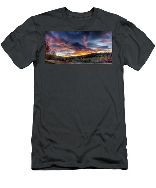Spearfish Canyon Golf Club Sunrise Men's T-Shirt (Athletic Fit)