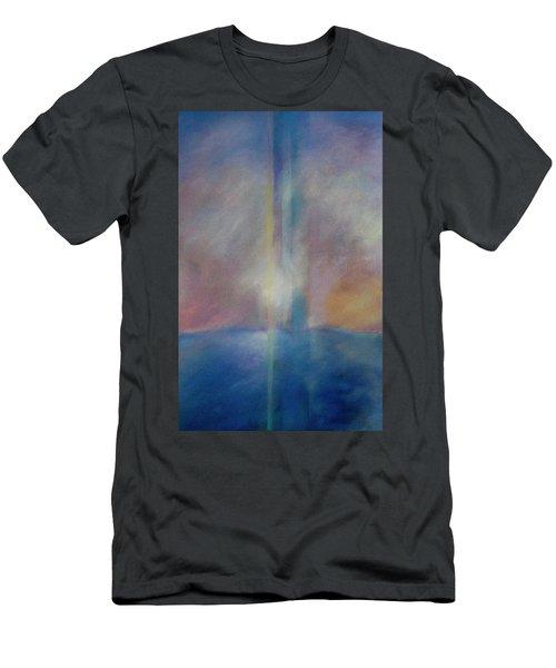 Spectral Sunrise Men's T-Shirt (Athletic Fit)