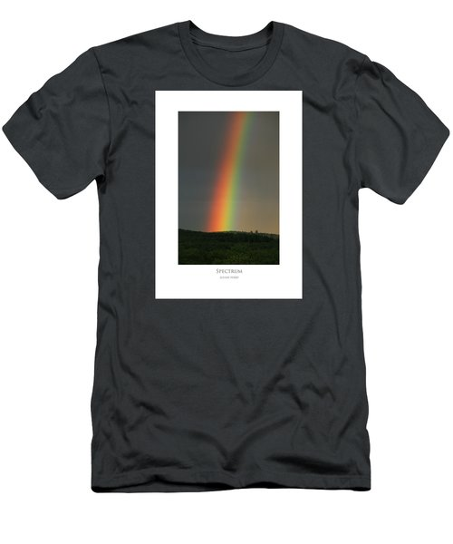 Men's T-Shirt (Athletic Fit) featuring the digital art Spectrum by Julian Perry