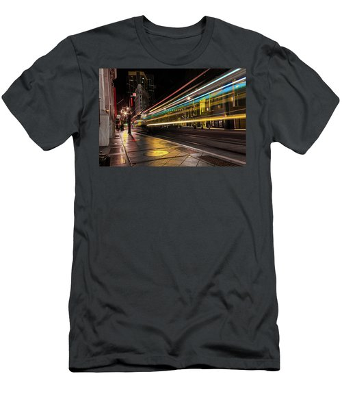 Speed Of Light Men's T-Shirt (Athletic Fit)