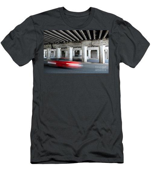 Speeding Car Men's T-Shirt (Athletic Fit)