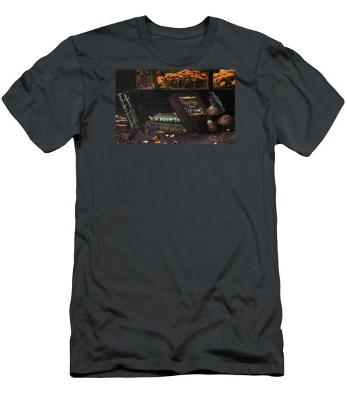 Men's T-Shirt (Slim Fit) featuring the photograph Spells And Potions by Robin-Lee Vieira