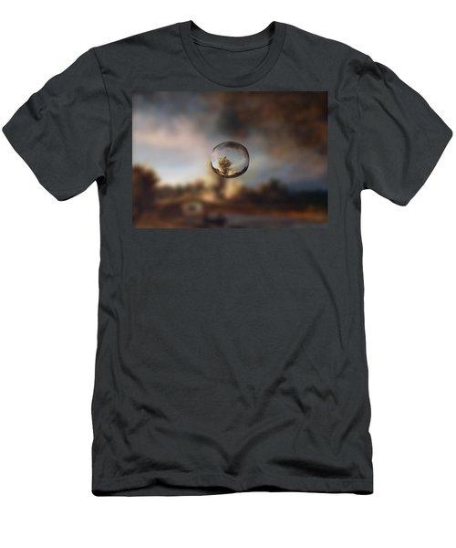Sphere 13 Rembrandt Men's T-Shirt (Slim Fit) by David Bridburg