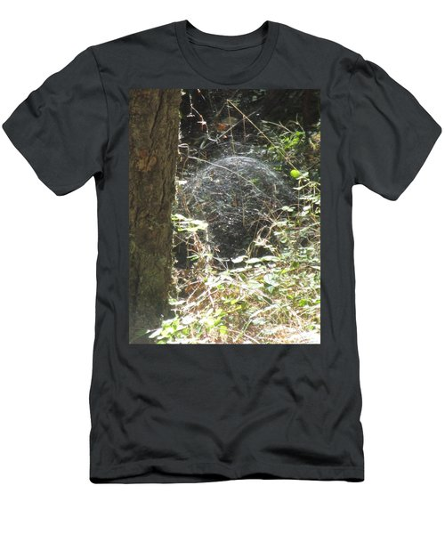 Men's T-Shirt (Athletic Fit) featuring the photograph Spider Dome by Marie Neder