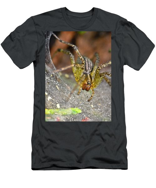 Spider Men's T-Shirt (Athletic Fit)