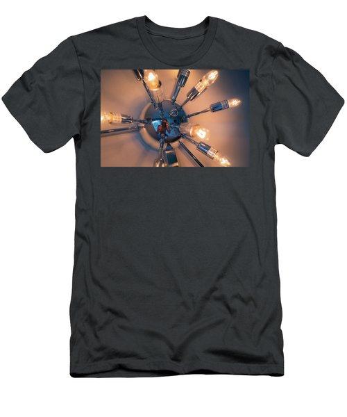 Spider Light Reflected Portrait Men's T-Shirt (Athletic Fit)