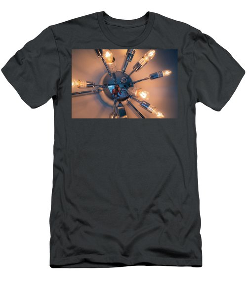 Spider Light Reflected Portrait Men's T-Shirt (Athletic Fit)