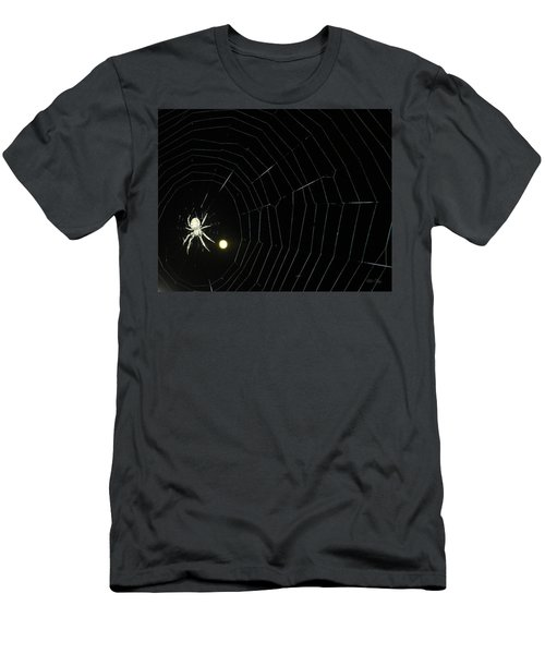 Spider Moon Men's T-Shirt (Athletic Fit)