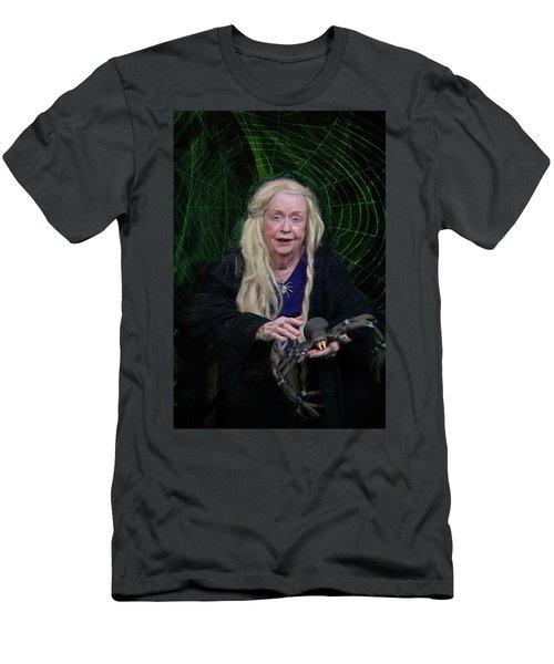 Spider Woman Men's T-Shirt (Slim Fit) by David Clanton