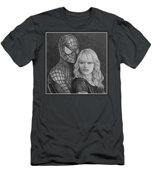 Spidey And Gwen Men's T-Shirt (Athletic Fit)