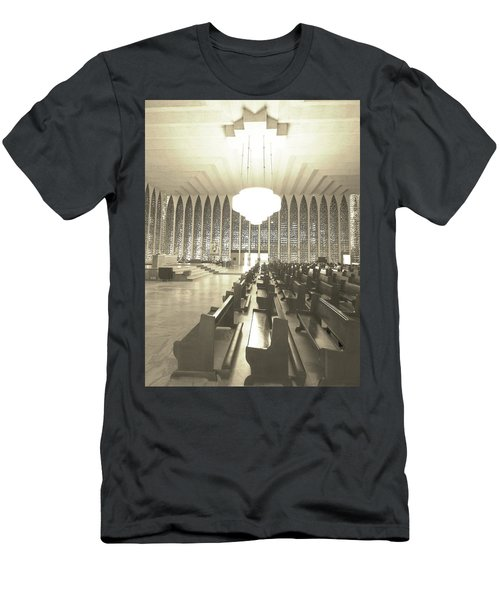 Men's T-Shirt (Slim Fit) featuring the photograph Spritual Connection by Beto Machado