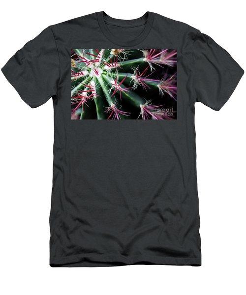 Spikes Men's T-Shirt (Slim Fit) by Ana Mireles