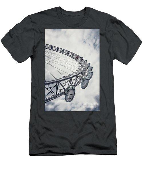 Spin Me Around Men's T-Shirt (Slim Fit) by Evelina Kremsdorf
