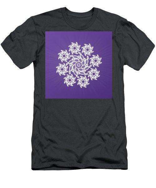 Spiral Dance Men's T-Shirt (Athletic Fit)