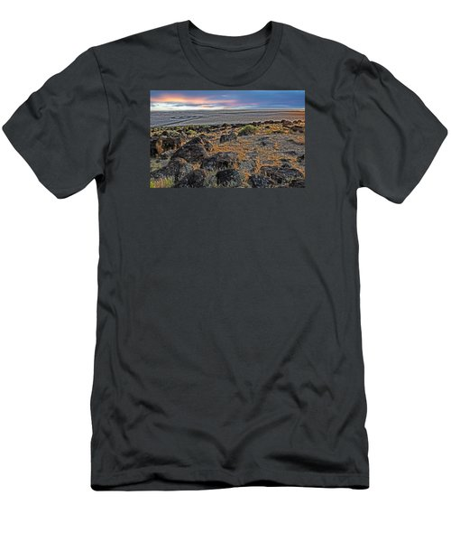 Spiral Jetty Men's T-Shirt (Athletic Fit)